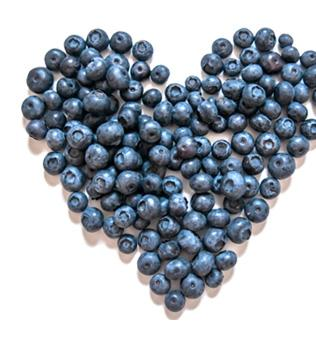 heart smart with BC Blueberries