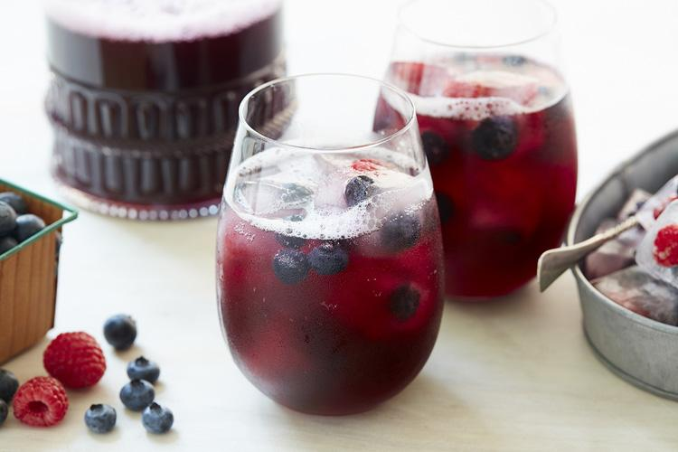 Blueberry Punch