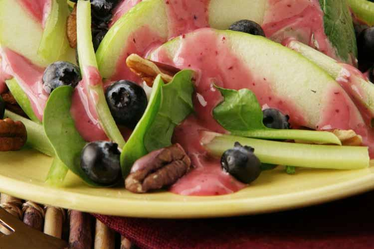 Blueberry Waldorf Salad