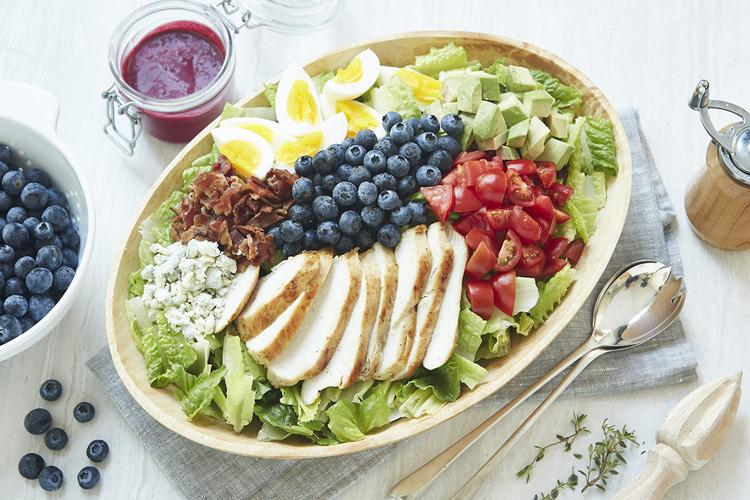 Blueberry Cobb Salad