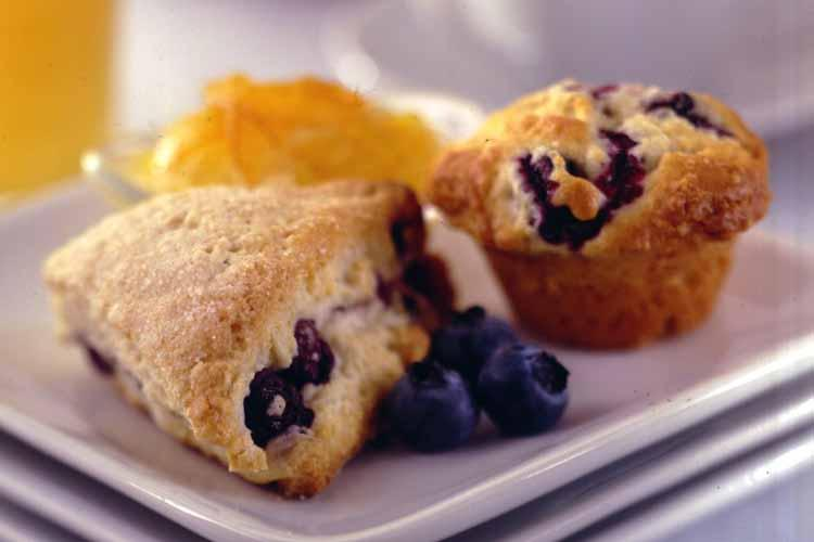 Blueberry Scones & Mini-Scones