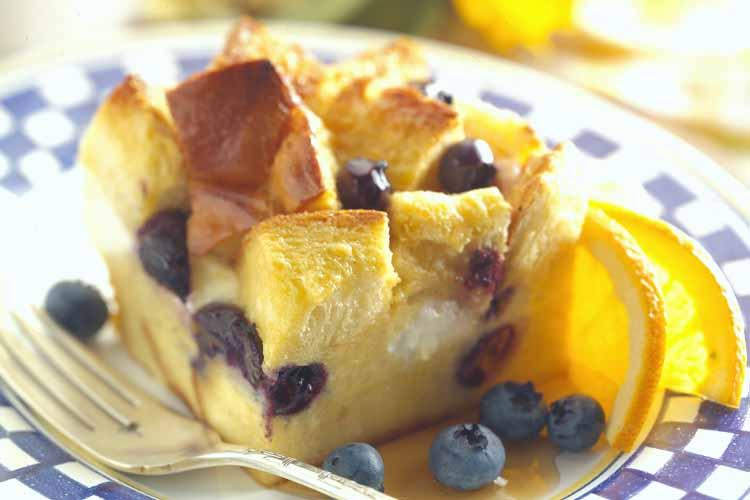 Blueberry Maple Breakfast Bake