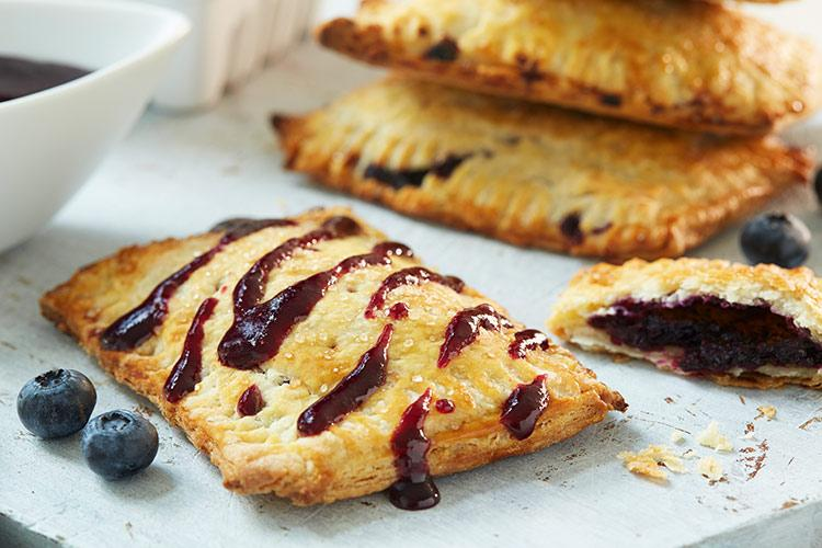 Blueberry Breakfast Toaster Tarts