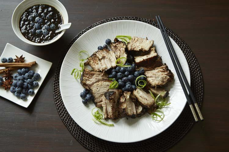 Braised Star Anise & Blueberry Pork Belly