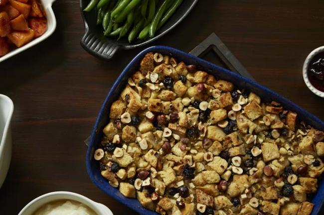 Savoury Blueberry Stuffing